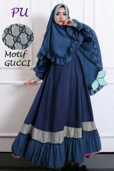 Kerudung Yolanda Syar I baju gamis syari jaeya gucci busana muslim trendy