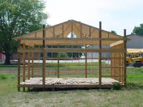 Barn Plans Designs by Pole Barn Plans Shed Diy Plans