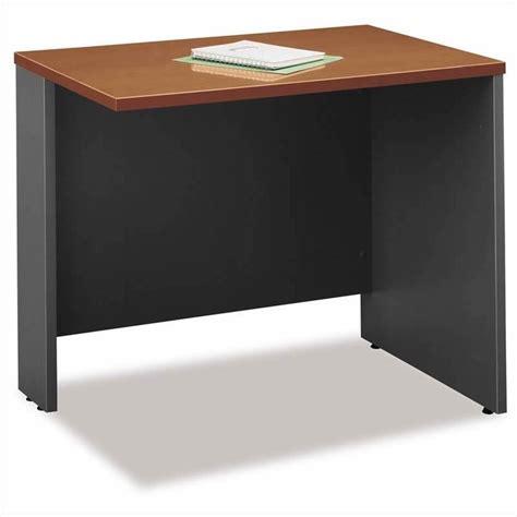 bush business series c l shape computer desk in auburn