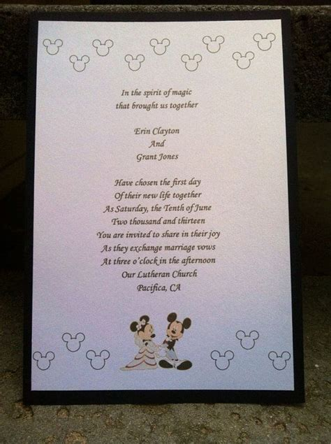 mickey and minnie wedding invitations by paulineparrdesigns 2 15 my wedding