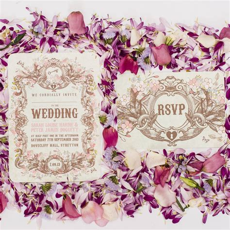 Garden Wedding Invitation Ideas Secret Garden Wedding Invitation By Something Kinda
