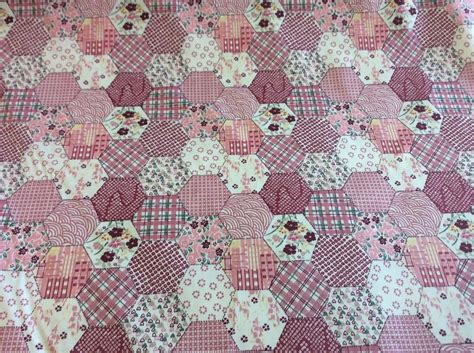 Cotton Patchwork - patchwork pink cotton fabric ebay