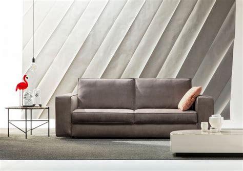 divanetti letto divano letto matrimoniale in pelle nemo berto salotti
