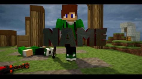 best minecraft intro template blender free download 15