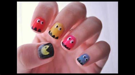 imagenes para pintar las uñas muchas formas de pintar tus u 241 as formas youtube