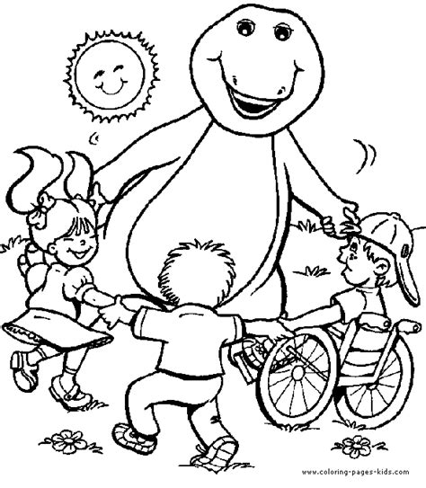 barney coloring pages pdf barney images to print free printables