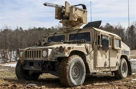 Laser Maron H1 by Humvee With Crows 2 H1 Hummer Humvee Hmmwv