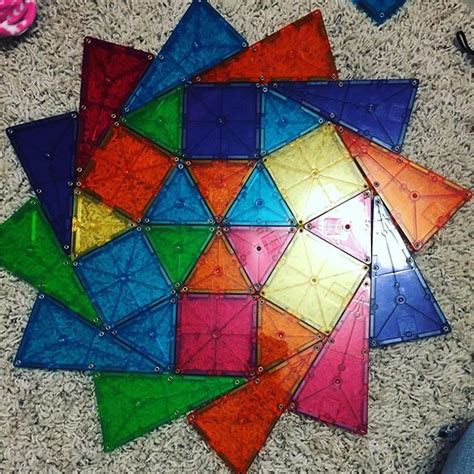 Magna Tiles Design Ideas by Favorite That Cora Has Is Magna Tiles Although Most Of The Time It Involves