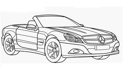 Ausmalbilder F R Kinder Autos by Auto Ausmalbilder Mercedes Malvorlagen F 252 R Senioren