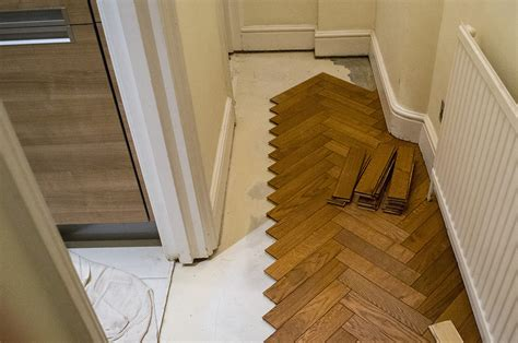 3 oak news installation of parquet oak flooring in marylebone