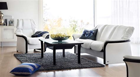 Circle Furniture Eldorado Stressless Lowback Sofa Eldorado Dining Room