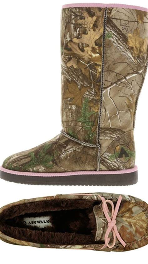 camo boot slippers pink camo ugg type boots