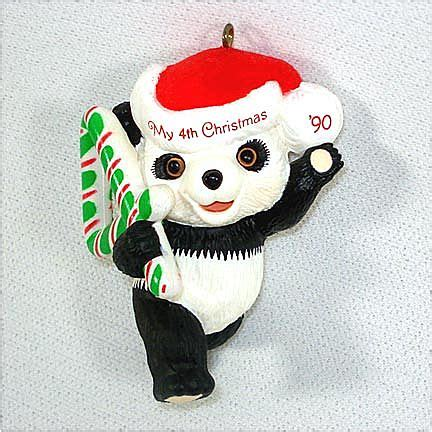 hallmark 1990 child s fourth christmas ornament from