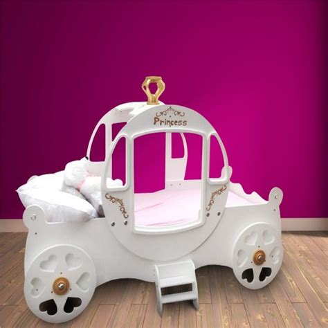 coach bed princess carriage bed white contemporary baby and