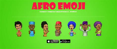 emoji express afro emoji emoji world