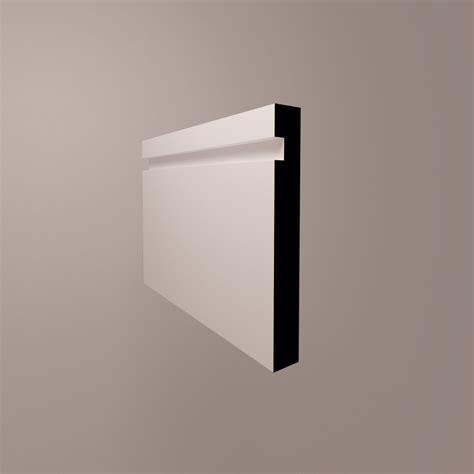 mdf recess  skirting boards mm thick skirting boards