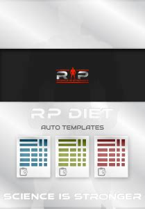 Rp Diet Templates Pinterest Workout Programs And Workout Rp Massing Template