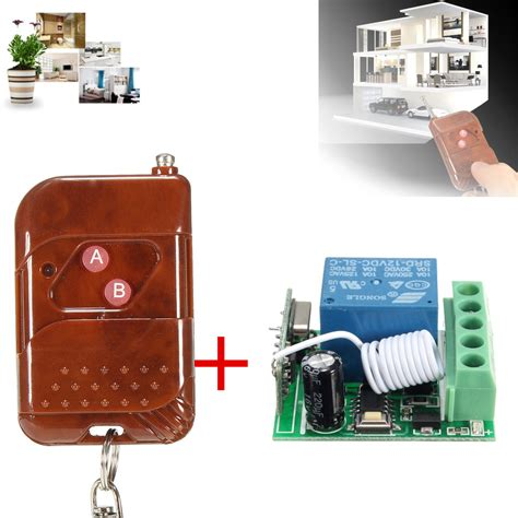 1 Receiver 10 Transmitter 3 Button Dc 12v 10a 1ch 433mhz Relay Wireless Rf Remote