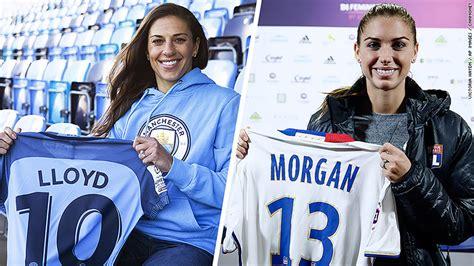 alex morgan and carli lloyd jerseys carli lloyd and alex morgan head overseas amid us fight