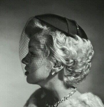 Marilyn Monroe Bedroom Ideas marilyn monroe side profile hat veil 1954 fashion