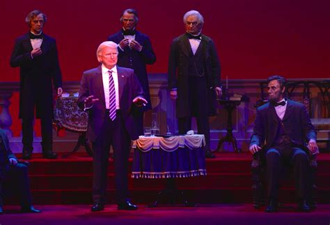 donald trump hall of presidents disney world hall of presidents animatronics in real life