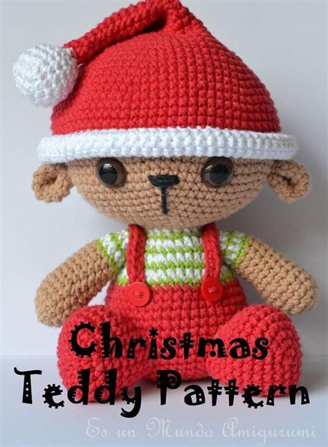 amigurumi pattern christmas christmas teddy amigurumi pattern