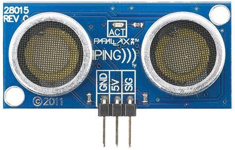 Ultrasonic Sensor Hc Sr04 Hc Sr04 Hcsr04 Ping parallax ping ultrasonic sensor robotshop