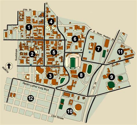 university of texas at cus map vagantes 2013 travel lodging