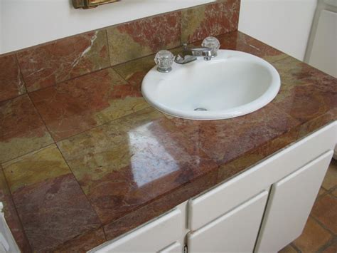 Buffing Marble Countertops by Before After Marbletilepolishing