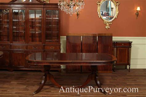 mahogany dining room regency table ebay