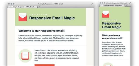 Simple Responsive Html Template by 30 Free Responsive Email And Newsletter Templates