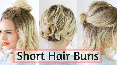 medium hairstyles buns short hair don t care 12 incredible hairstyle ideas for