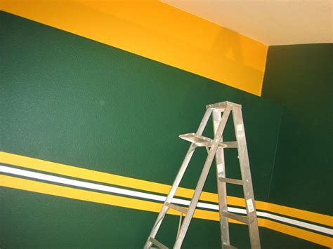 green bay packers wall paint colors