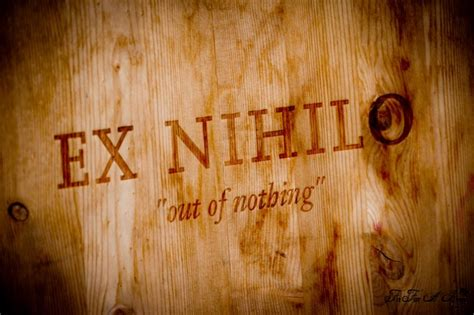 creation ex nihilo origins books winemaker dinner event with ex nihilo vineyards