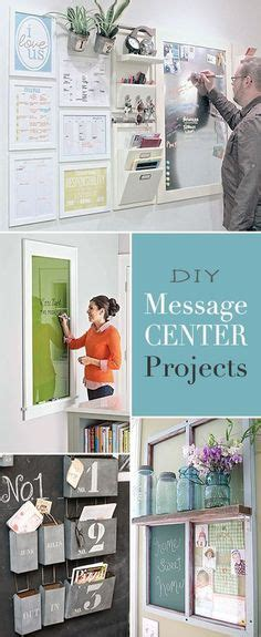 kitchen message board ideas diy message center projects awesome ideas and tutorials