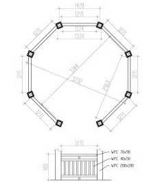 Gazebo Floor Layout by 12 Ft Octagon Gazebo Plans Pergola Design Ideas