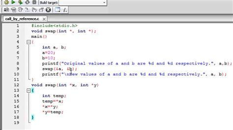 tutorial c programming c programming tutorial 49 functions part 4 call by