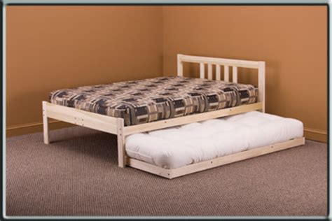 nomad bed frame trundle bed twin to nomad bed by kd frames