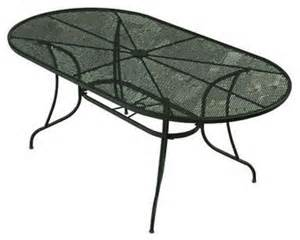 Wrought Iron Patio Dining Table Bji Inc Patio Tables Wrought Iron Green Oval Patio Dining Table Contemporary Dining