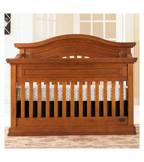 Distressed Wood Baby Crib by Bonavita Sheffield Lifestyle Crib In Distressed Country Wheat