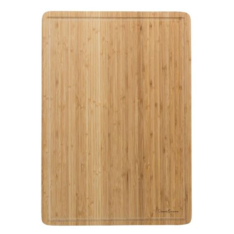 trademark wooden cutting board m030208 the home depot