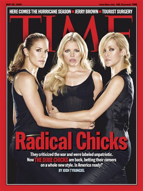 Time Magazine Cover Radical Chicks May 29 2006 Music