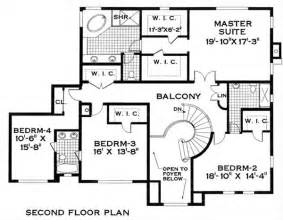 spanish colonial floor plans also style home upper level plan residence greta asuncion