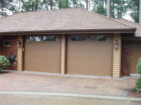 clopay flush style steel insulated garage doors