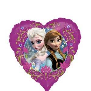 frozen balloon heart party city