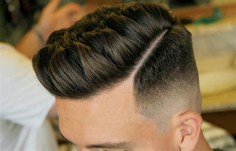 faded sideburns with bangs 35 men s fade haircuts 2018 men s haircuts hairstyles 2018
