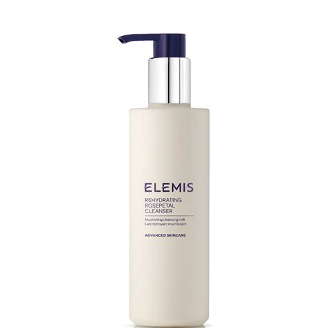 Elemis Detox Products by Elemis Rehydrating Rosepetal Cleanser 200ml Free Delivery