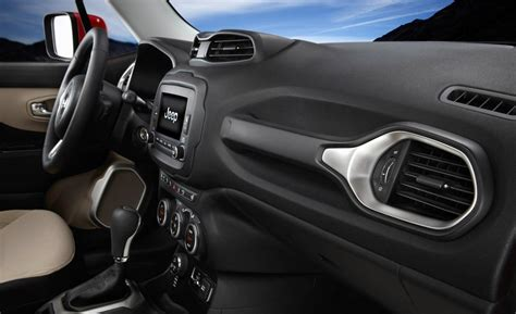 Jeep Renegade 2015 Interior Car And Driver