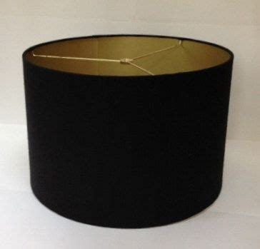 black drum l shades with gold lining homeofficedecoration black drum l shades with gold lining