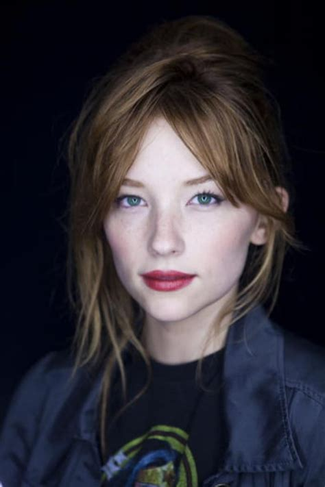 middle part bangs with long hair picture of haley bennett